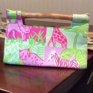 """Small preppy """"Lilly """" inspired handbag"""